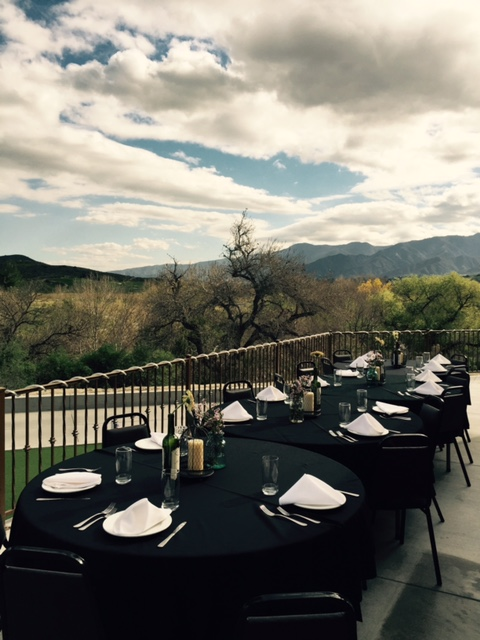 The Arroyo Room Provides Beautiful Views Of Corona Countryside